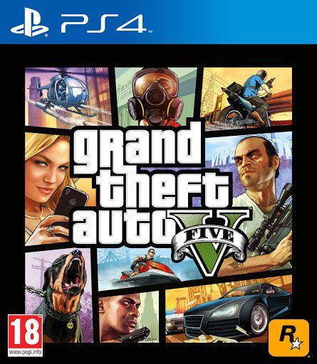 GTA V-PS4 cover ts