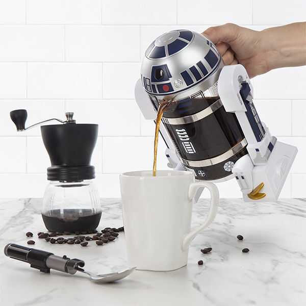 Pressa per il caffè R2D2