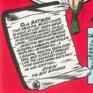 batman robin scroll
