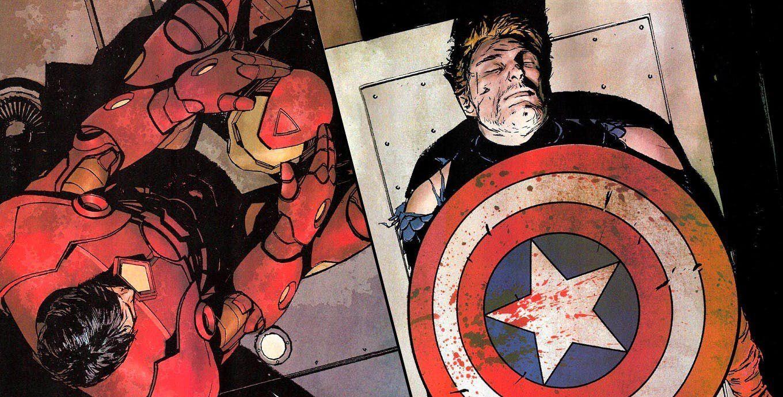 مرگ کاپتان آمریکا و آیرون من