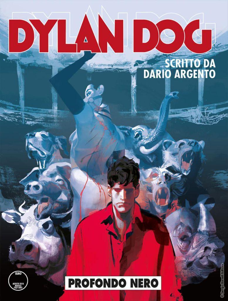 Dylan Dog - Profondo Nero - Cover