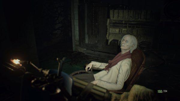 grandma resident evil