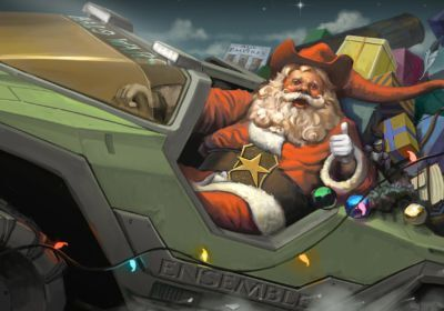 Santa-Warthog-Gamer-Christmas-Wallpaper