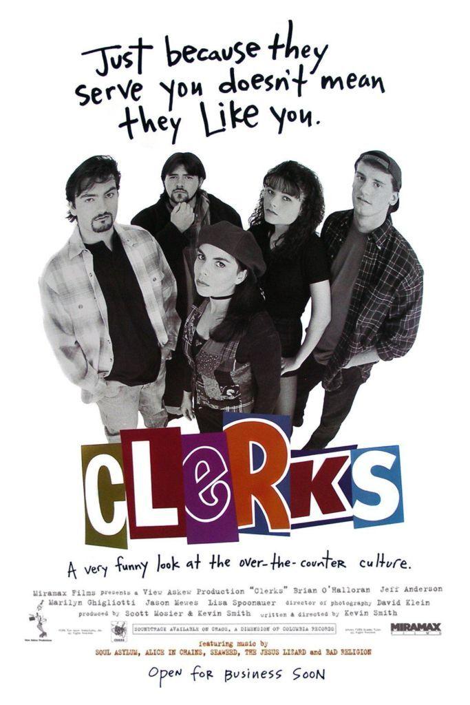 Clerks Locandina