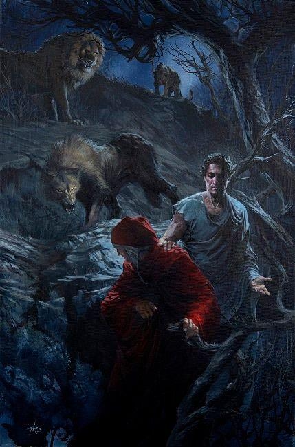 La Divina Commedia Inferno - Gabriele dell Otto - Mondadori - Selva - Nerdcore