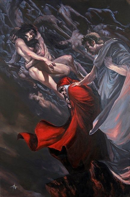 La Divina Commedia Inferno - Gabriele dell Otto - Mondadori - Nerdcore