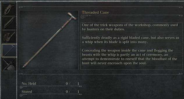 bastone cacciatore