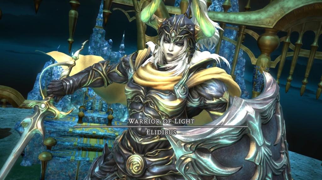 Il Warrior of Light di Final Fantasy I, emblema della saga