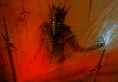 26661-paintings-red-berserk-fantasy-art-science-fiction-artwork-swords-demon-hell-swords-dark-horror-scary-creepy-spooky